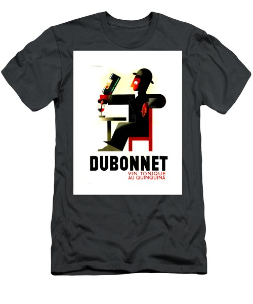 1956 Dubonnet Poster II By Adolphe Mouron Cassandre Men's T-Shirt (Athletic Fit)