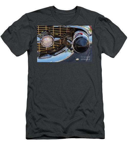 1957 Chevy Bel Air Grill Abstract 2 Men's T-Shirt (Athletic Fit)