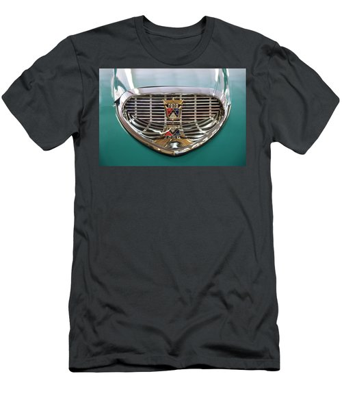 Men's T-Shirt (Slim Fit) featuring the digital art 1958 Ford Fairlane Sunliner Intake by Chris Flees