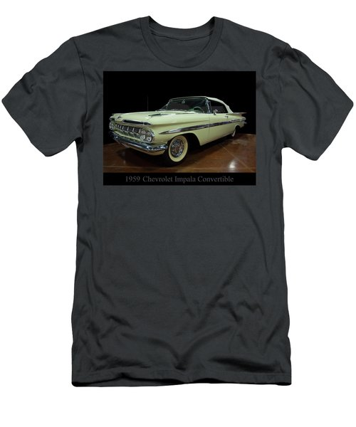 1959 Chevy Impala Convertible Men's T-Shirt (Athletic Fit)