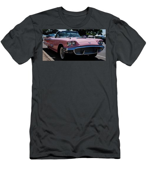 1959 Ford Thunderbird Convertible Men's T-Shirt (Slim Fit) by Joann Copeland-Paul