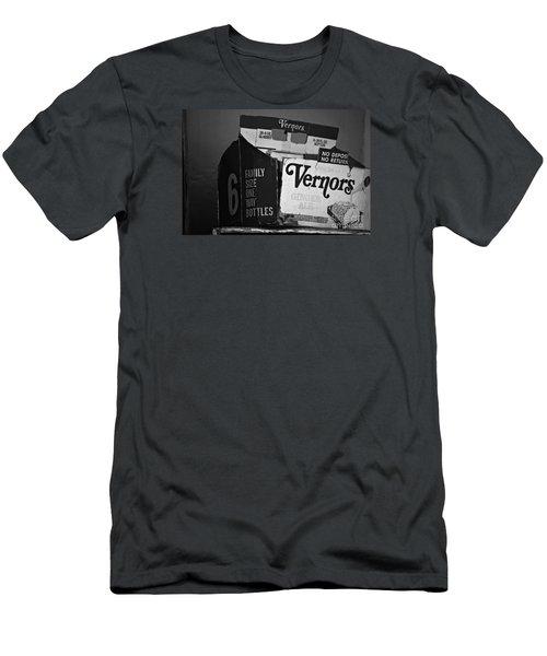 1960's Vernors Box. No Deposit, No Rerurn  Men's T-Shirt (Slim Fit) by Sandra Church