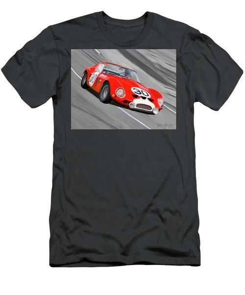 1962 Ferrari 250 Gto Men's T-Shirt (Slim Fit) by Wally Hampton