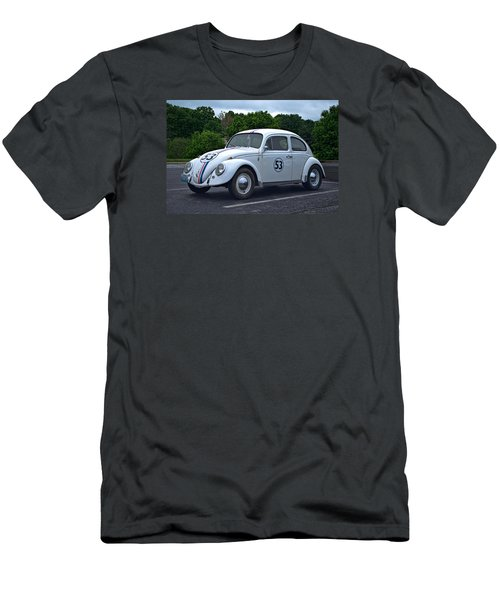 1963 Vw Herbie  Men's T-Shirt (Slim Fit) by Tim McCullough