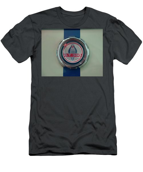 Men's T-Shirt (Athletic Fit) featuring the photograph 1965 Shelby Gt 350 Filler Cap by Chris Flees