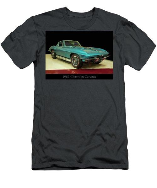 1967 Chevrolet Corvette 2 Men's T-Shirt (Slim Fit) by Chris Flees