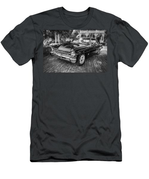 1967 Chevrolet Nova Super Sport Painted Bw 1 Men's T-Shirt (Athletic Fit)