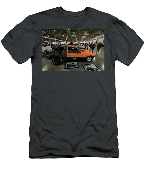 Men's T-Shirt (Slim Fit) featuring the photograph 1975 Amc Pacer by Randy Scherkenbach