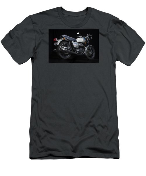 1977 Triumph Bonneville Silver Jubilee Men's T-Shirt (Athletic Fit)