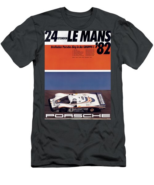 1982 24hr Le Mans Men's T-Shirt (Athletic Fit)