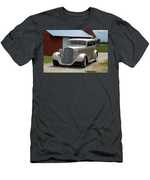 1934 Chevrolet Sedan Hot Rod Men's T-Shirt (Athletic Fit)