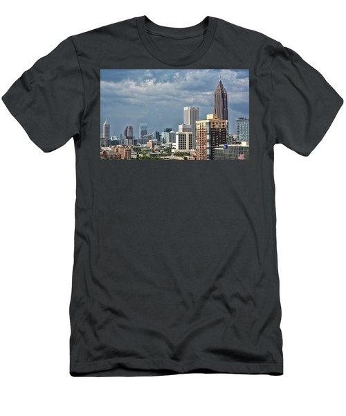 Men's T-Shirt (Slim Fit) featuring the photograph Atlanta by Anna Rumiantseva