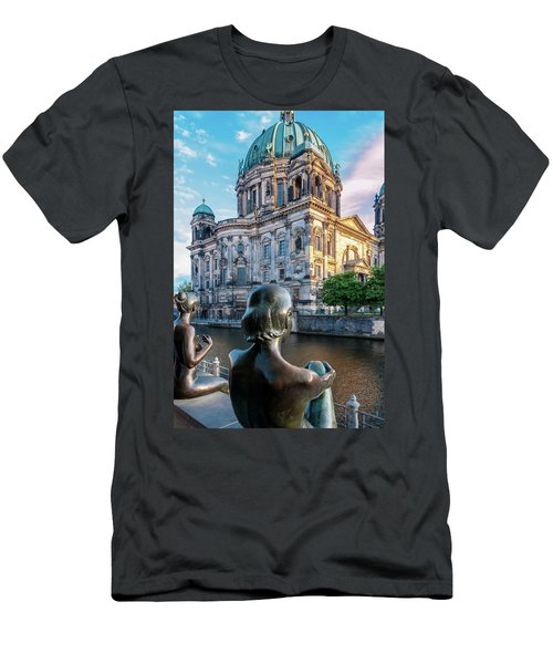 Berlin Men's T-Shirt (Slim Fit) by Stavros Argyropoulos