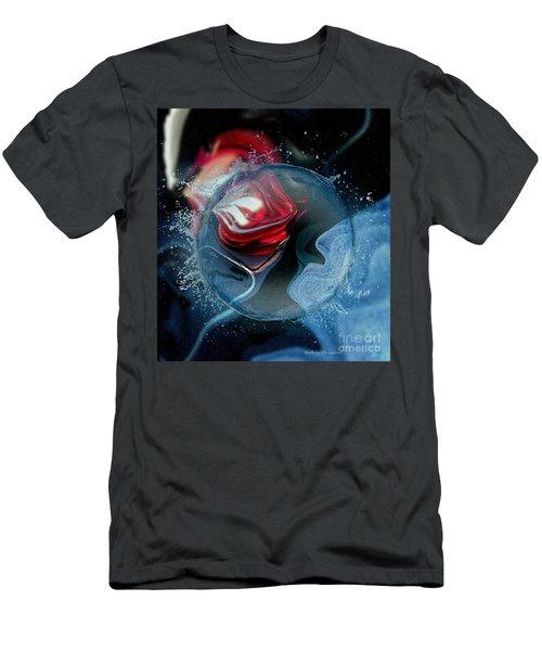 Upheaval Men's T-Shirt (Slim Fit) by Kathie Chicoine