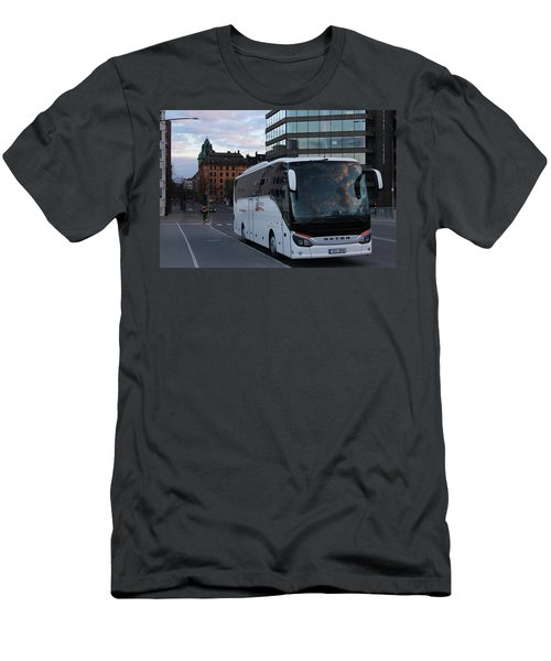 Bus Men's T-Shirt (Athletic Fit)