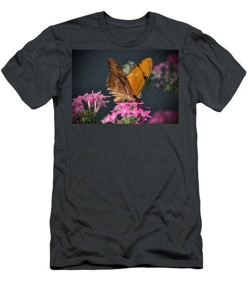 Men's T-Shirt (Slim Fit) featuring the photograph Butterfly by Savannah Gibbs