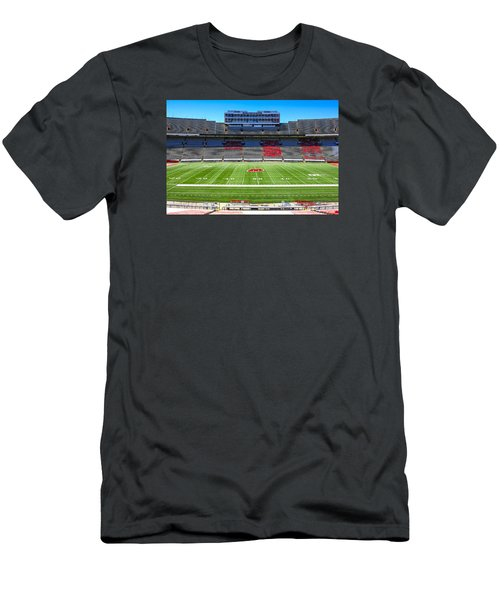 Camp Randall Uw Madison Men's T-Shirt (Slim Fit) by Chris Smith