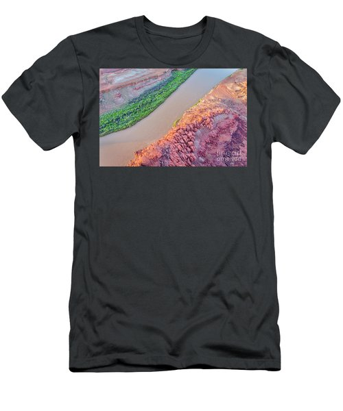 Canyon Of Colorado River - Sunrise Aerial View Men's T-Shirt (Athletic Fit)