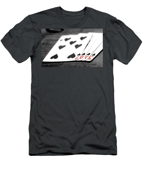 Card Men's T-Shirt (Athletic Fit)