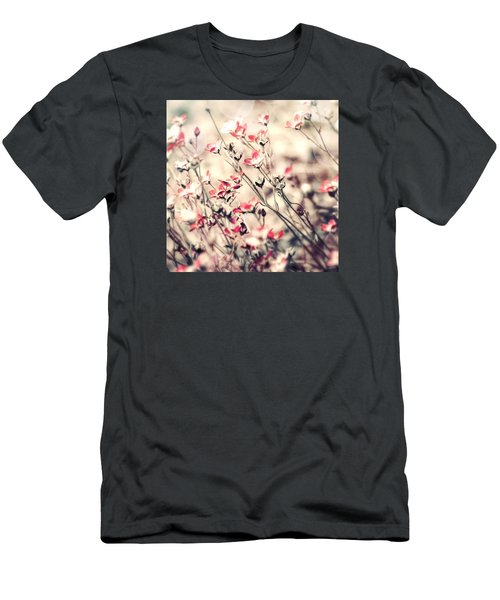 Carefree Men's T-Shirt (Slim Fit) by Bonnie Bruno