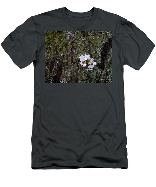 Men's T-Shirt (Athletic Fit) featuring the photograph Cherry Blossoms by Tari Simmons