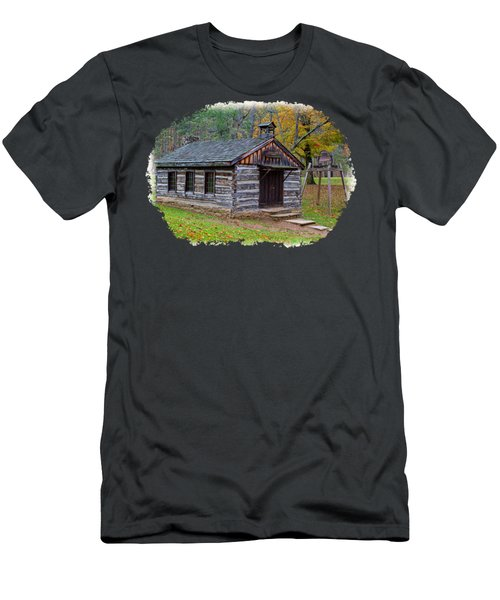 Church Men's T-Shirt (Slim Fit) by John M Bailey