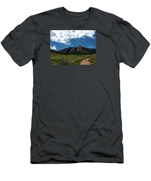 Colorado Landscape Men's T-Shirt (Slim Fit) by Anthony Dezenzio