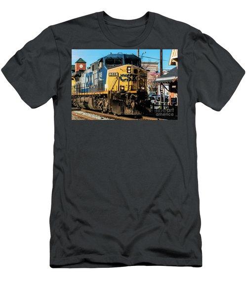 Csx Engine Gaithersburg Maryland Men's T-Shirt (Athletic Fit)