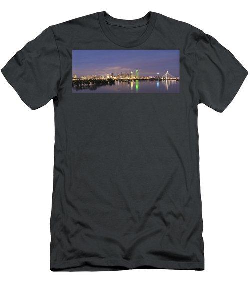 Dallas Skyline Twilight Men's T-Shirt (Athletic Fit)