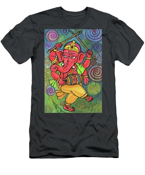 Dancing Ganesha Men's T-Shirt (Athletic Fit)