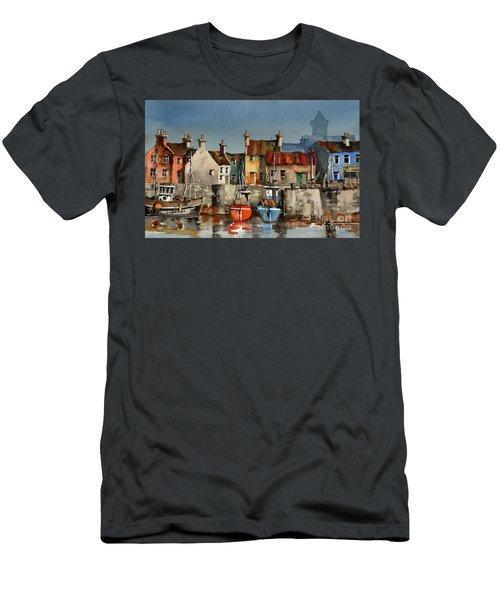 Dingle Harbour, Kerry Men's T-Shirt (Athletic Fit)