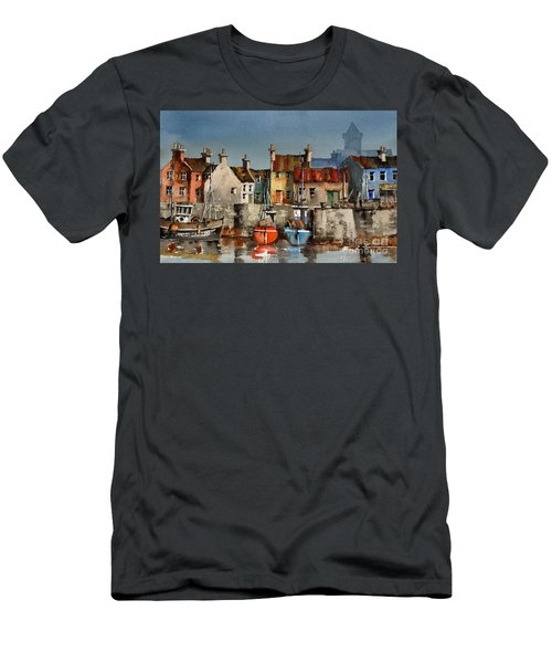 Dingle Harbour, Kerry Men's T-Shirt (Athletic Fit)