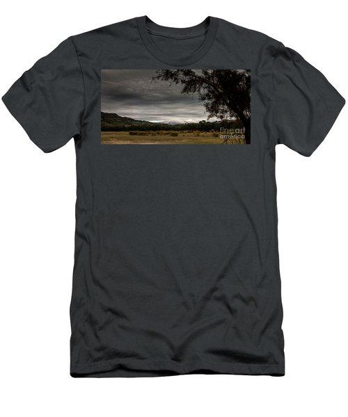 Etna, The West Side Men's T-Shirt (Athletic Fit)
