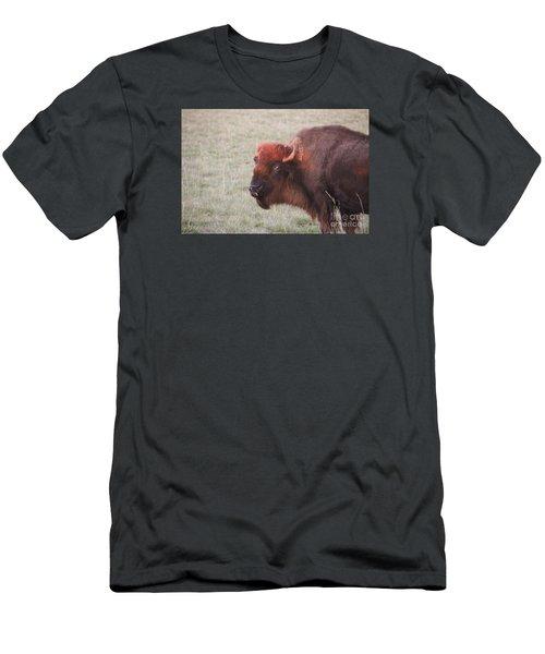 Eye To Eye Men's T-Shirt (Slim Fit) by Yumi Johnson