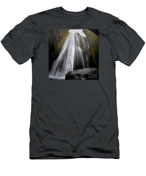 Gljufrabui Men's T-Shirt (Slim Fit) by Gunnar Orn Arnason