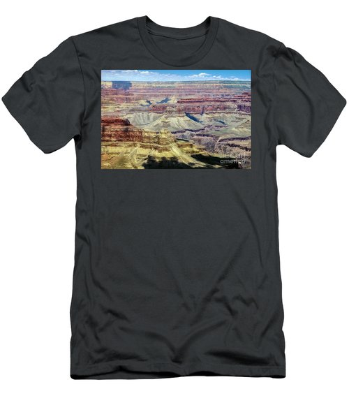Grand Canyon Men's T-Shirt (Slim Fit) by RicardMN Photography