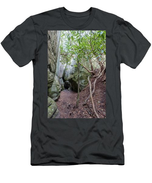 Men's T-Shirt (Athletic Fit) featuring the photograph Great Virginia Channels  by Kevin Blackburn