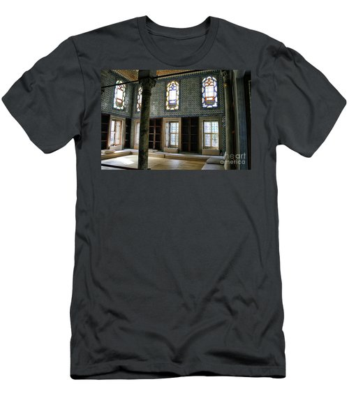 Men's T-Shirt (Slim Fit) featuring the photograph Inside The Harem Of The Topkapi Palace by Patricia Hofmeester