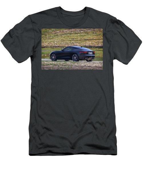 #jaguar #f-type #print Men's T-Shirt (Athletic Fit)