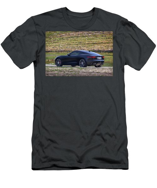 #jaguar #f-type #print Men's T-Shirt (Athletic Fit)
