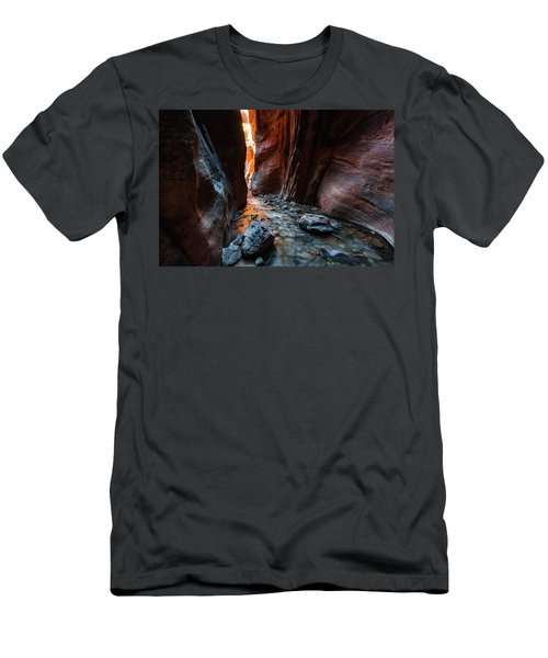 Kanarra Slot Canyon Men's T-Shirt (Athletic Fit)