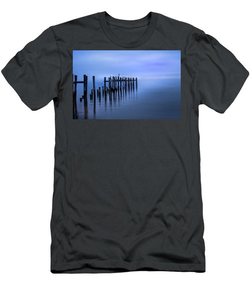 Colorful Overcast At Twilight Men's T-Shirt (Athletic Fit)