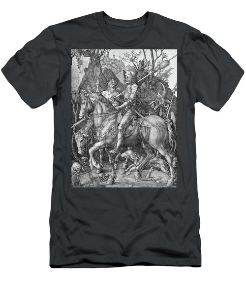 Knight Death And The Devil Men's T-Shirt (Athletic Fit)