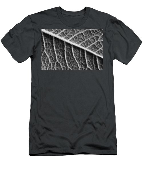 Men's T-Shirt (Slim Fit) featuring the photograph Leaf by Chevy Fleet
