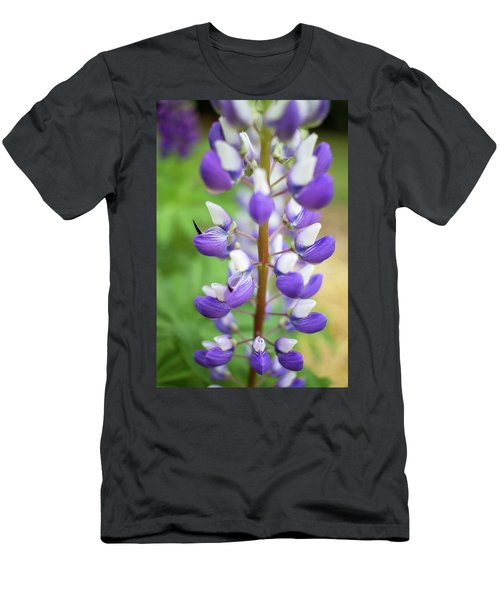 Men's T-Shirt (Slim Fit) featuring the photograph Lupine Blossom by Robert Clifford