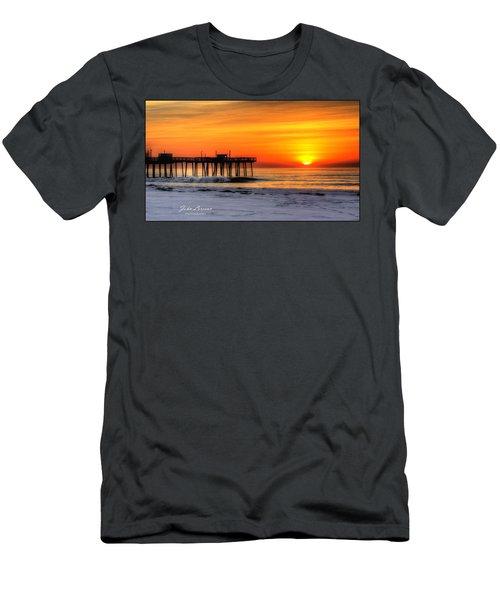 Margate Sunrise Men's T-Shirt (Athletic Fit)