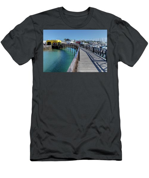 Marina Rubicon - Lanzarote Men's T-Shirt (Athletic Fit)