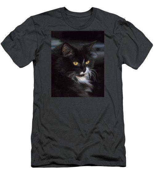 Mitzie Men's T-Shirt (Slim Fit) by Susi Stroud