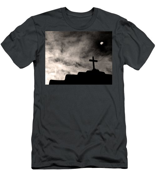 New Mexico Moon Men's T-Shirt (Athletic Fit)