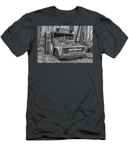Old School Bus Men's T-Shirt (Athletic Fit)